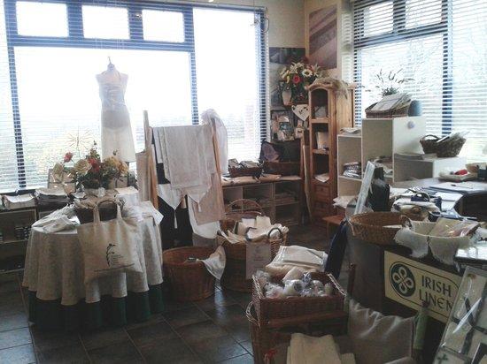 Fergusons Irish Linen Factory: the pretty Linen Centre