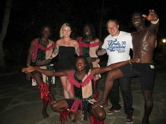 Diani Sea Resort : Us and the Flying Rastas