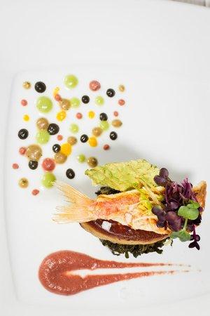 Acquapazza: Filetto di triglia e foie gras