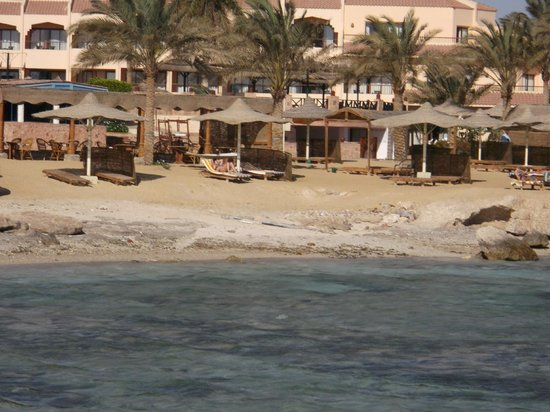 Flamenco Beach and Resort: panorama
