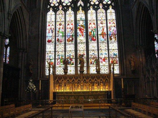 Ripon Cathedral: ripon reredos