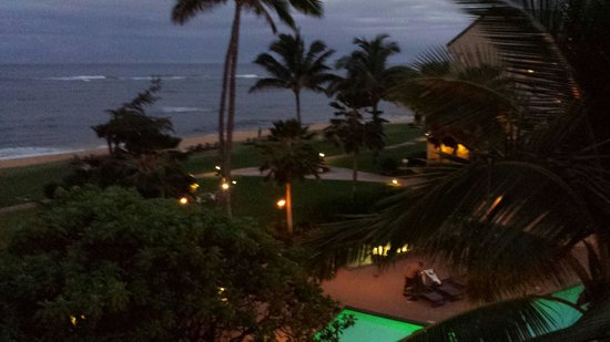 Courtyard Kaua'i at Coconut Beach: View from room 411