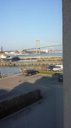 Dockyard Hotel: Harbour view is a little extra but worth it on a sunny day