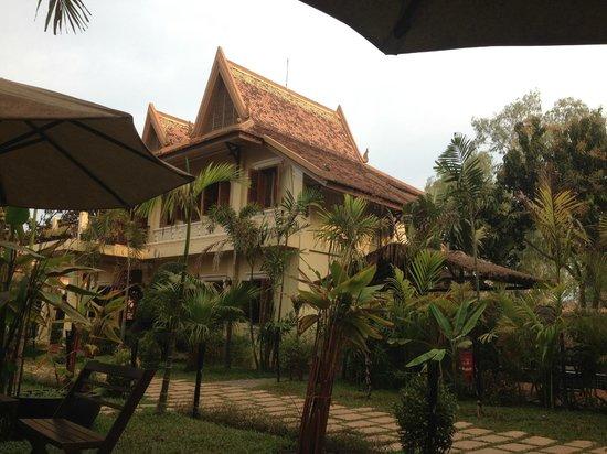 Malika d'Angkor Boutique Hotel : vu de l'hôtel
