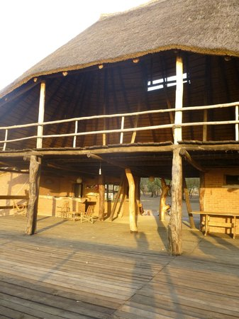 Kuti Wildlife Reserve: Sunset Deck, somewhere for a nice cold drink looking over the beautiful wetland watching wildlif