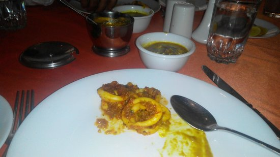 Gajalee : Squids and prawns