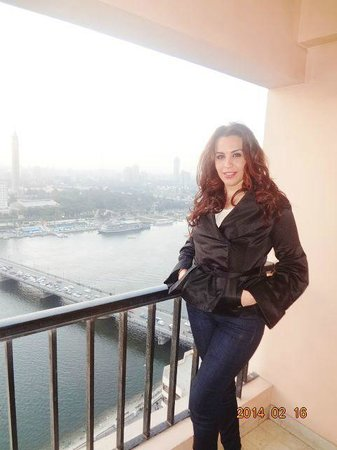 InterContinental Cairo Semiramis: The view from the room at the 27 th floor