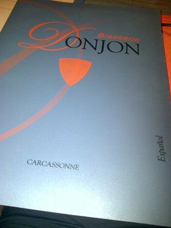 Brasserie Le Donjon: Carta
