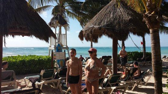 Dreams Tulum Resort & Spa : Beach area