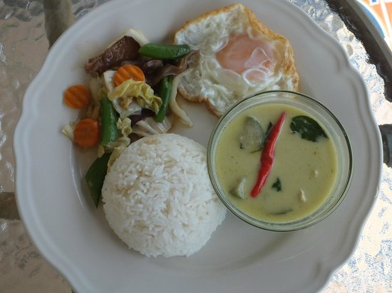 Perennial Resort: Petit-déjeuner Thaï