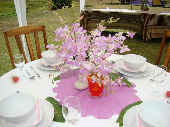 Kingsacre : Wedding reception