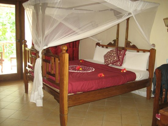 Uroa Bay Beach Resort: Lors de notre arrivée dans notre chambre