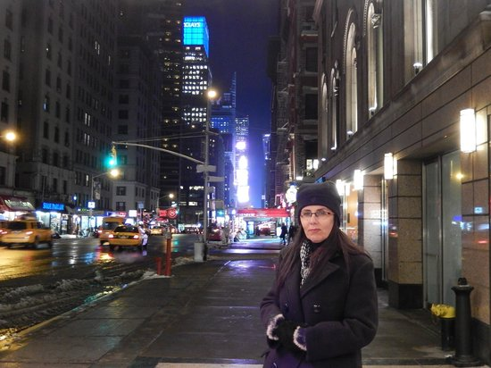 Park Central Hotel New York : defronte ao hotel