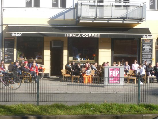 impala coffee kaffeerosterei: Relax and watch the world go by