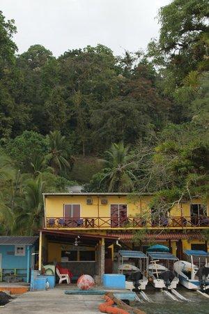 Scubapanama: vista desde el puerto