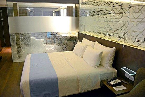 Ize Seminyak: La cama es muy cómoda