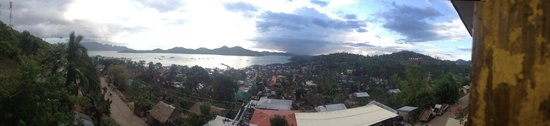 Mt. Tapyas Hotel: 3rd floor view