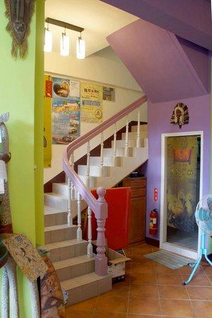 Penghu Moncsor International Youth Hostel: Inside the hostel