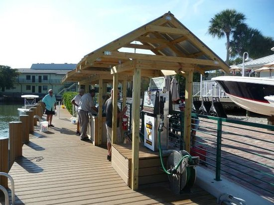 Cedar Bay Yacht Club: New 12000 Gallon Marine fuel Station