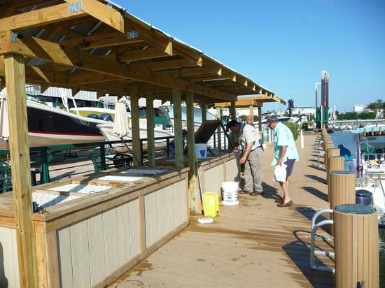 Cedar Bay Yacht Club: Live Bait Tanks