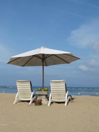 Grand Mirage Resort & Thalasso Spa - Bali: The beach