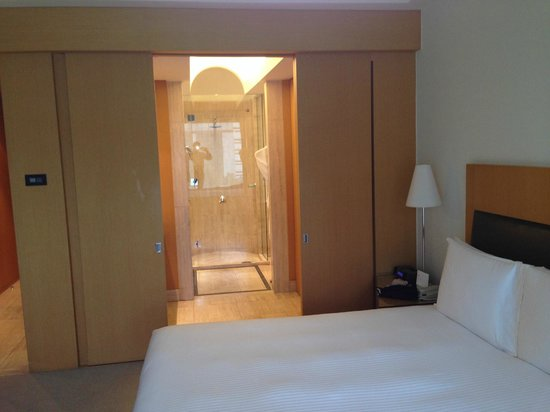 Grand Hyatt Sao Paulo: Entrada do banheiro