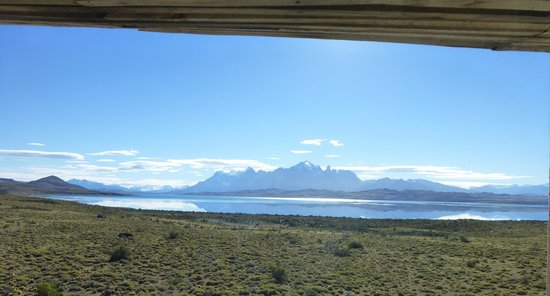 Tierra Patagonia Hotel & Spa : Veiw from my room, day of arrival. Stunning weather.