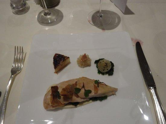 Belmond Le Manoir aux Quat'Saisons: poached breast of chicken