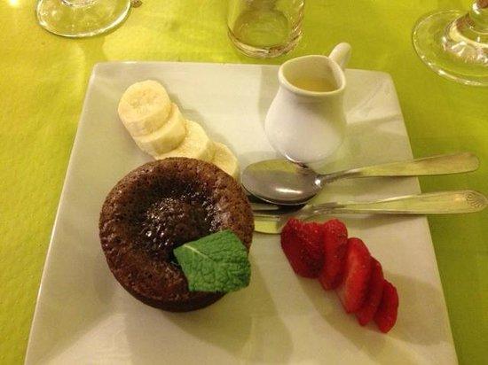 Le Jardin d'Amalula: Moelleux au chocolat