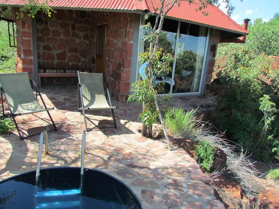 Waterberg Plateau Lodge: room view from terrace