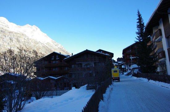 Hotel Dufour Alpin Zermatt : Site hôtelier