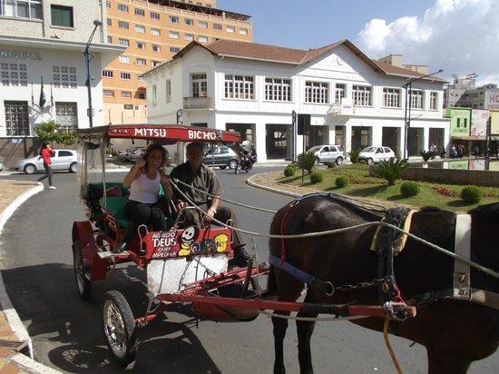 Ibis Pocos de Caldas : Com o Cherretiro muito bom conheçe tudo na cidade.