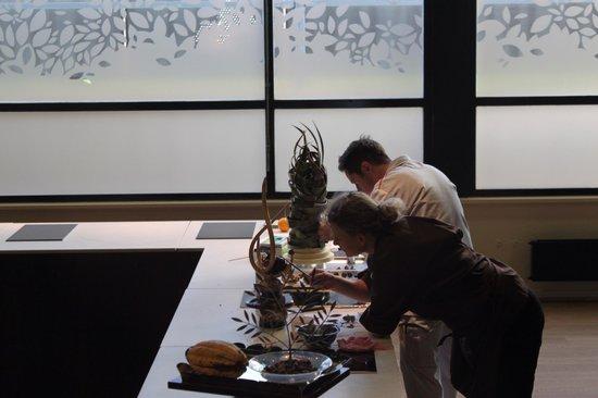 Maison Cailler Chocolaterie : A arte de esculturar o chocolate