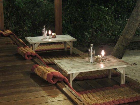 Beachlounge - Thong Sala: terrasse cosy