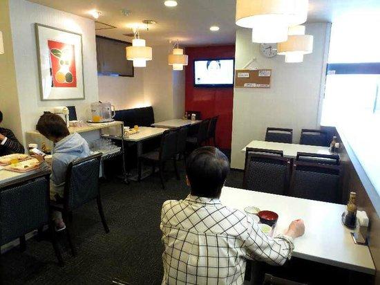 Palude Kushiro : 4 一階ロビー横の朝食会場