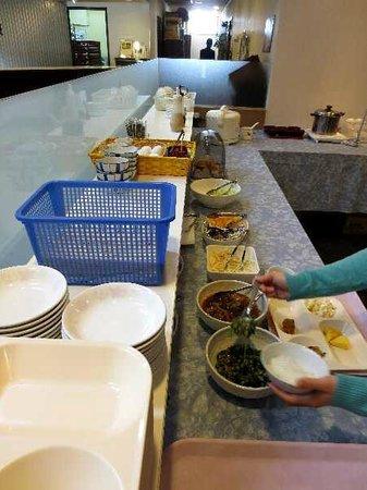 Palude Kushiro : 5 バイキング朝食