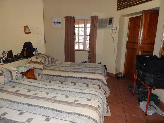 Olifants Rest Camp : De rondavel van binnen