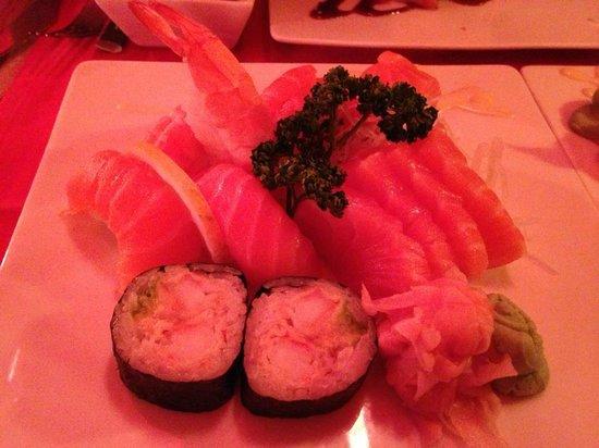 Shoko : Saumon, crevette
