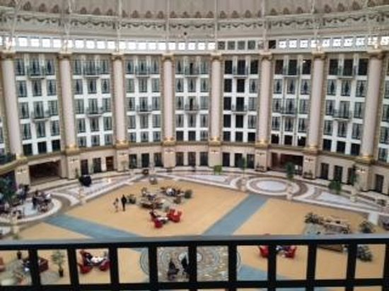 West Baden Springs Hotel : View from our Room