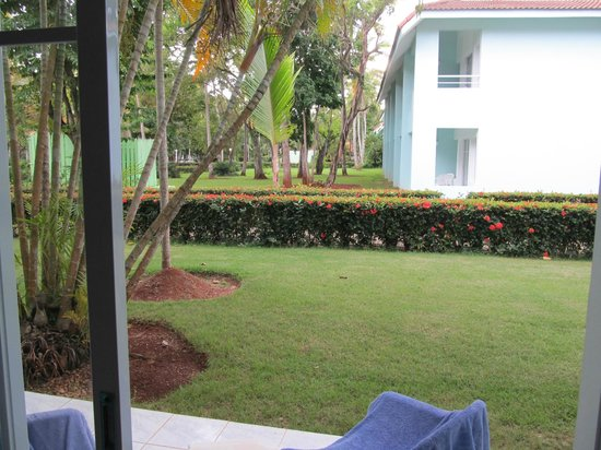 Grand Paradise Samana : View from our first room in building 2