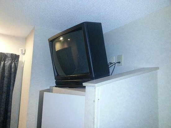 Microtel Inn & Suites by Wyndham Philadelphia Airport: If this is a new hotel - how are the TVs so old?