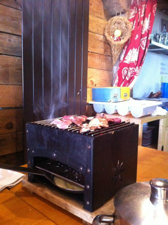 La Cachette Gourmande: BBQ de table