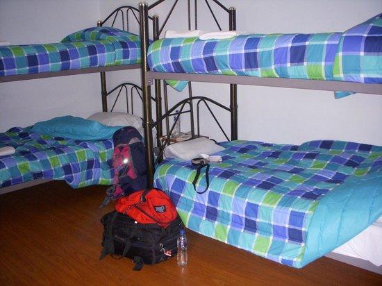 Hosteria San Carlos Tababela : Dormitorio