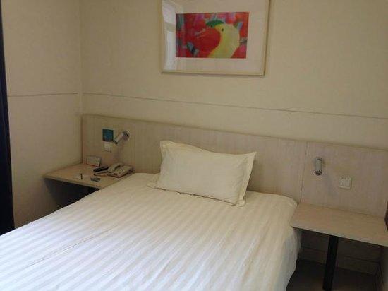 Jinjiang Inn (Shanghai Xuhui Jiaotong University): ベッド