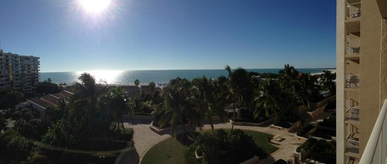 Marco Beach Ocean Resort : View from room on 9th floor