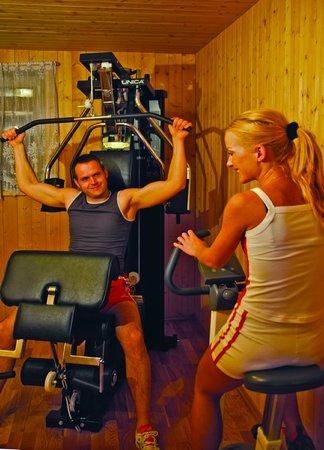 Garni Residence Diamant: Fitness room