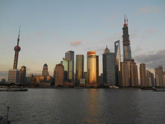 Les Suites Orient, Bund Shanghai : Vue à 50 m de l'hôtel
