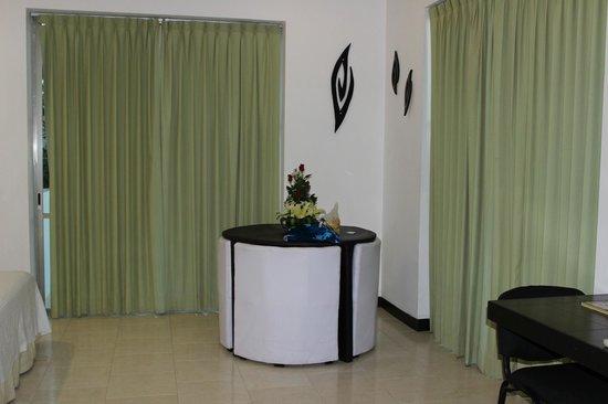 Hotel Plaza Playa: Interior do quarto