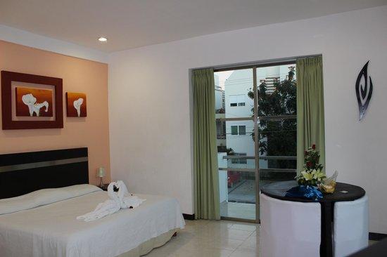 Hotel Plaza Playa: Interior do qurto