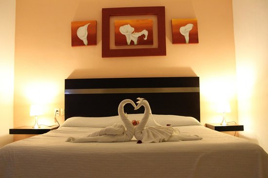 Hotel Plaza Playa: Cama